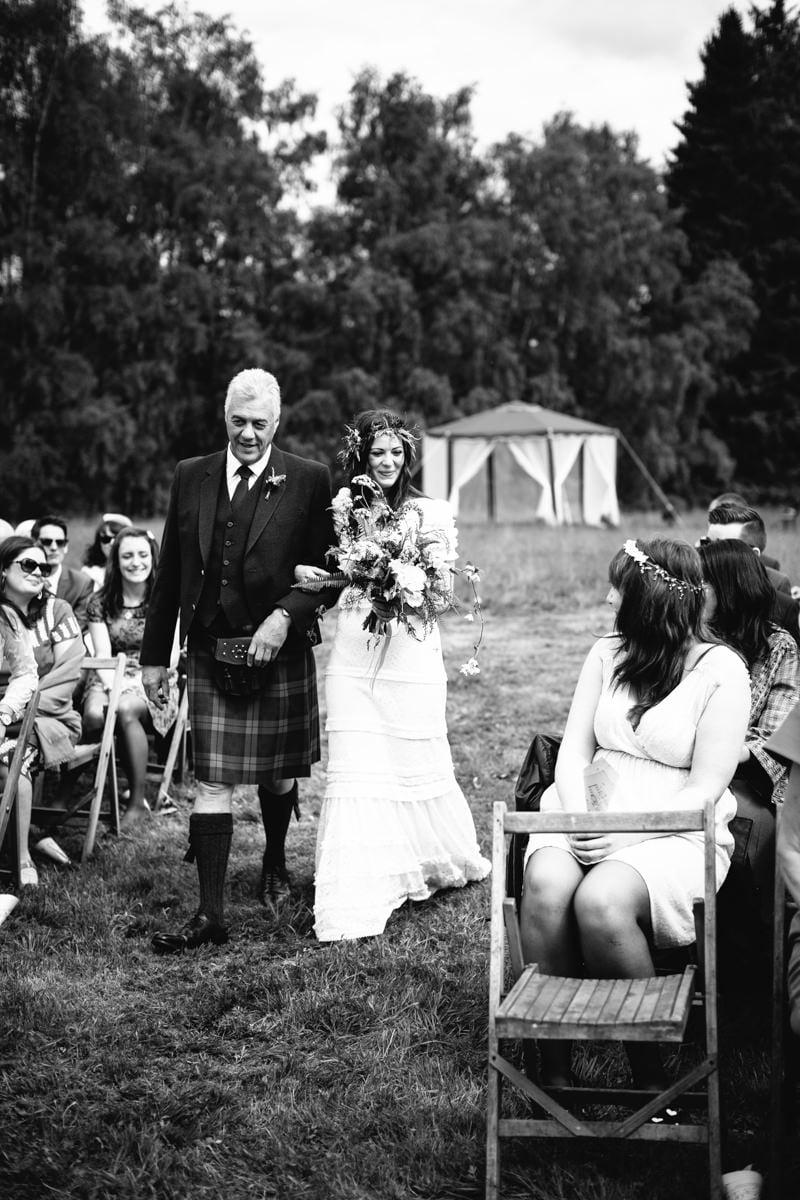 Fi and Mike Inshriach Estate Wedding-105