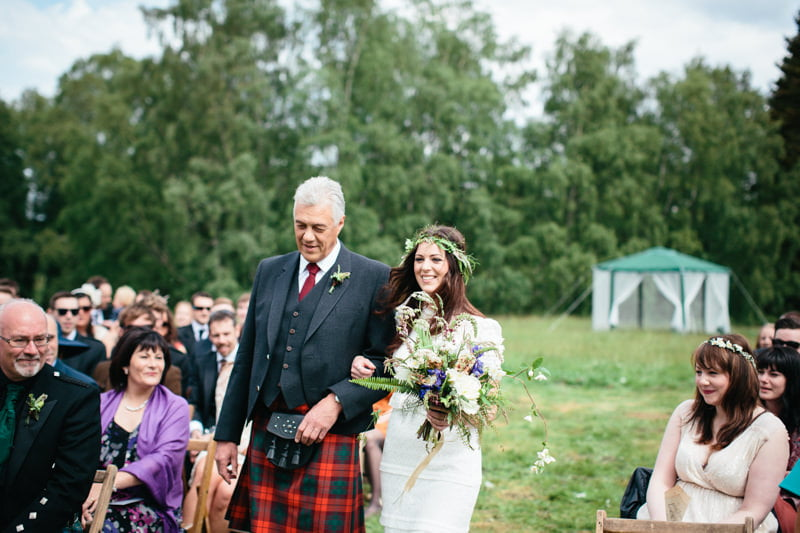 Fi and Mike Inshriach Estate Wedding-106