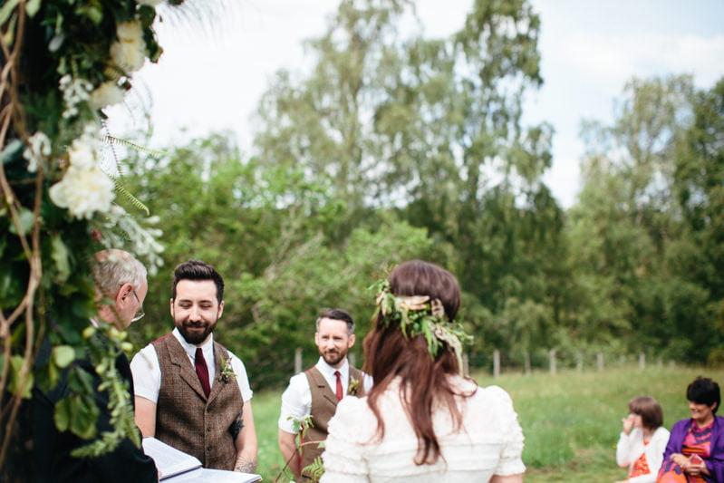 Fi and Mike Inshriach Estate Wedding-115