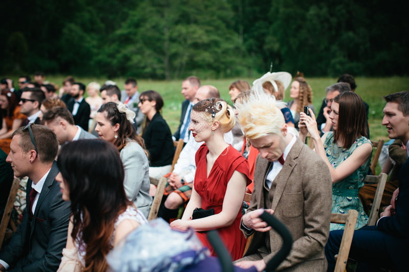 Fi and Mike Inshriach Estate Wedding-116