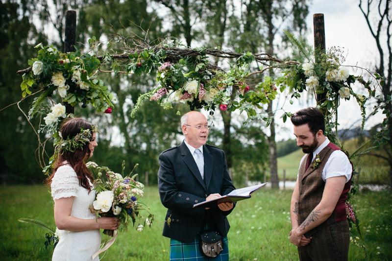 Fi and Mike Inshriach Estate Wedding-118