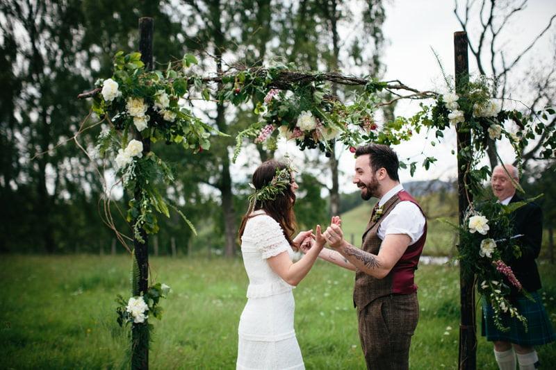 Fi and Mike Inshriach Estate Wedding-128
