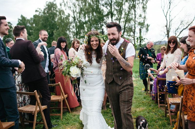 Fi and Mike Inshriach Estate Wedding-142