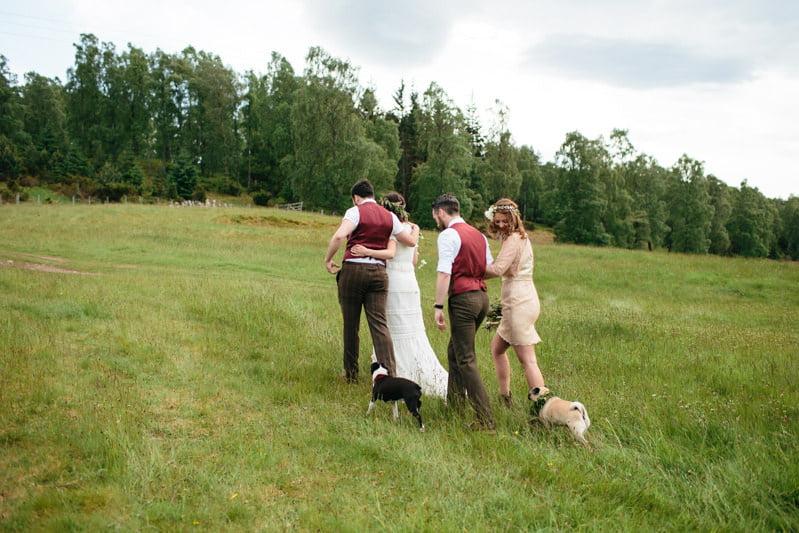 Fi and Mike Inshriach Estate Wedding-144