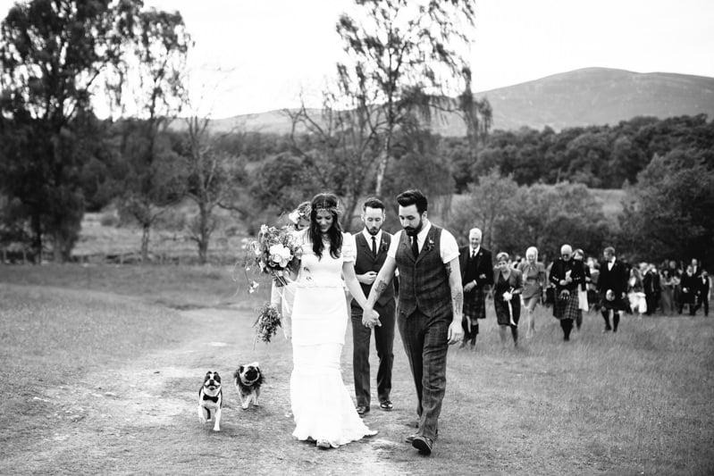 Fi and Mike Inshriach Estate Wedding-145
