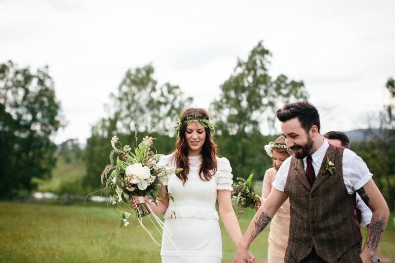 Fi and Mike Inshriach Estate Wedding-146