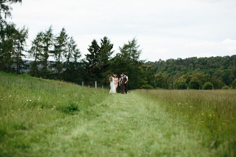 Fi and Mike Inshriach Estate Wedding-148