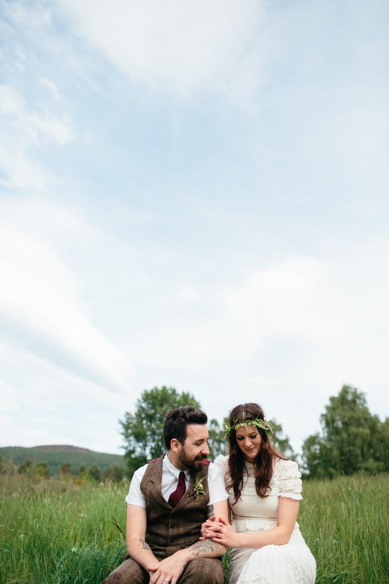 Fi and Mike Inshriach Estate Wedding-208
