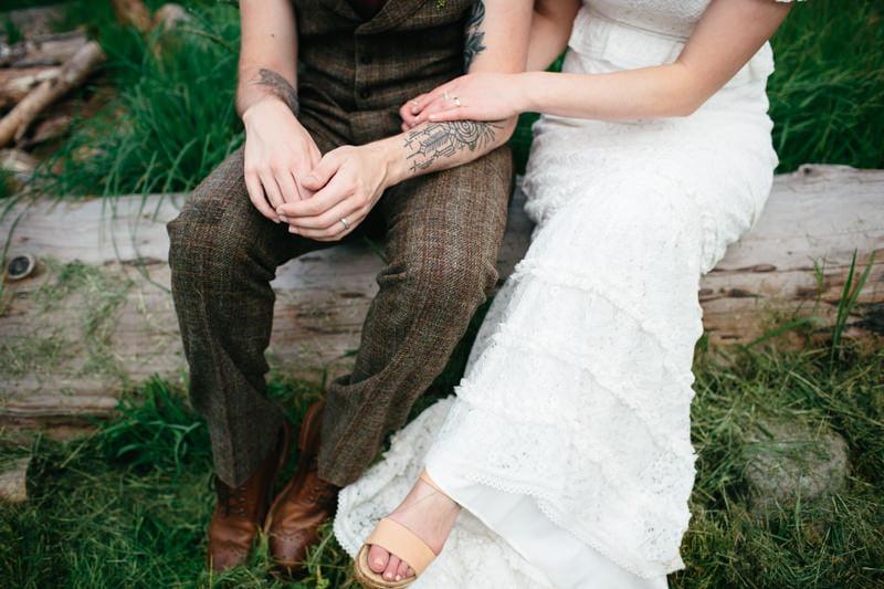 Fi and Mike Inshriach Estate Wedding-209