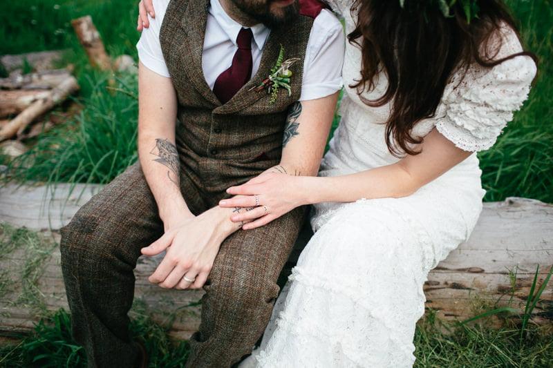Fi and Mike Inshriach Estate Wedding-210