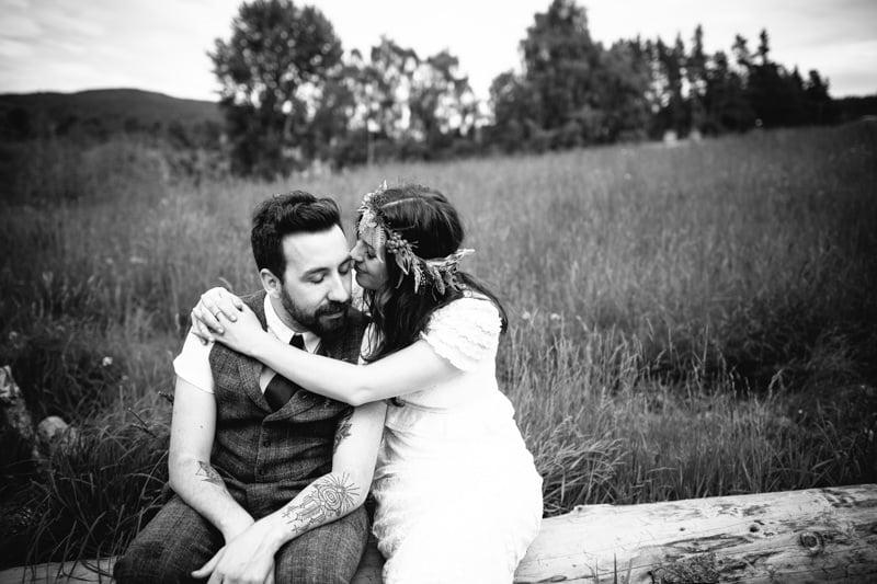Fi and Mike Inshriach Estate Wedding-211