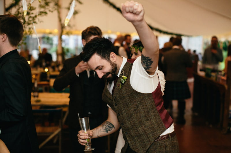 Fi and Mike Inshriach Estate Wedding-308