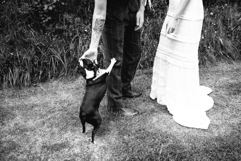 Fi and Mike Inshriach Estate Wedding-91