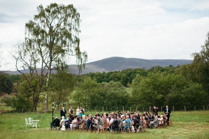 Fi and Mike Inshriach Estate Wedding-95