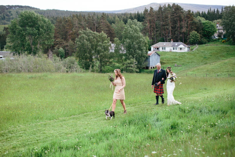 Fi and Mike Inshriach Estate Wedding-98