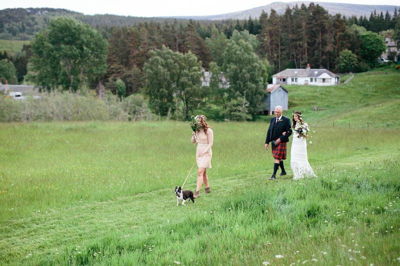 Fi and Mike Inshriach Estate Wedding-99