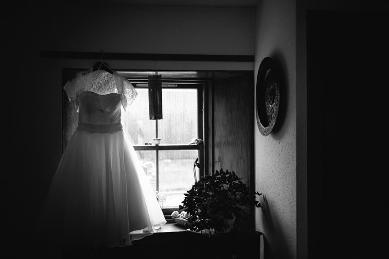 Black And White Wedding Photo 94